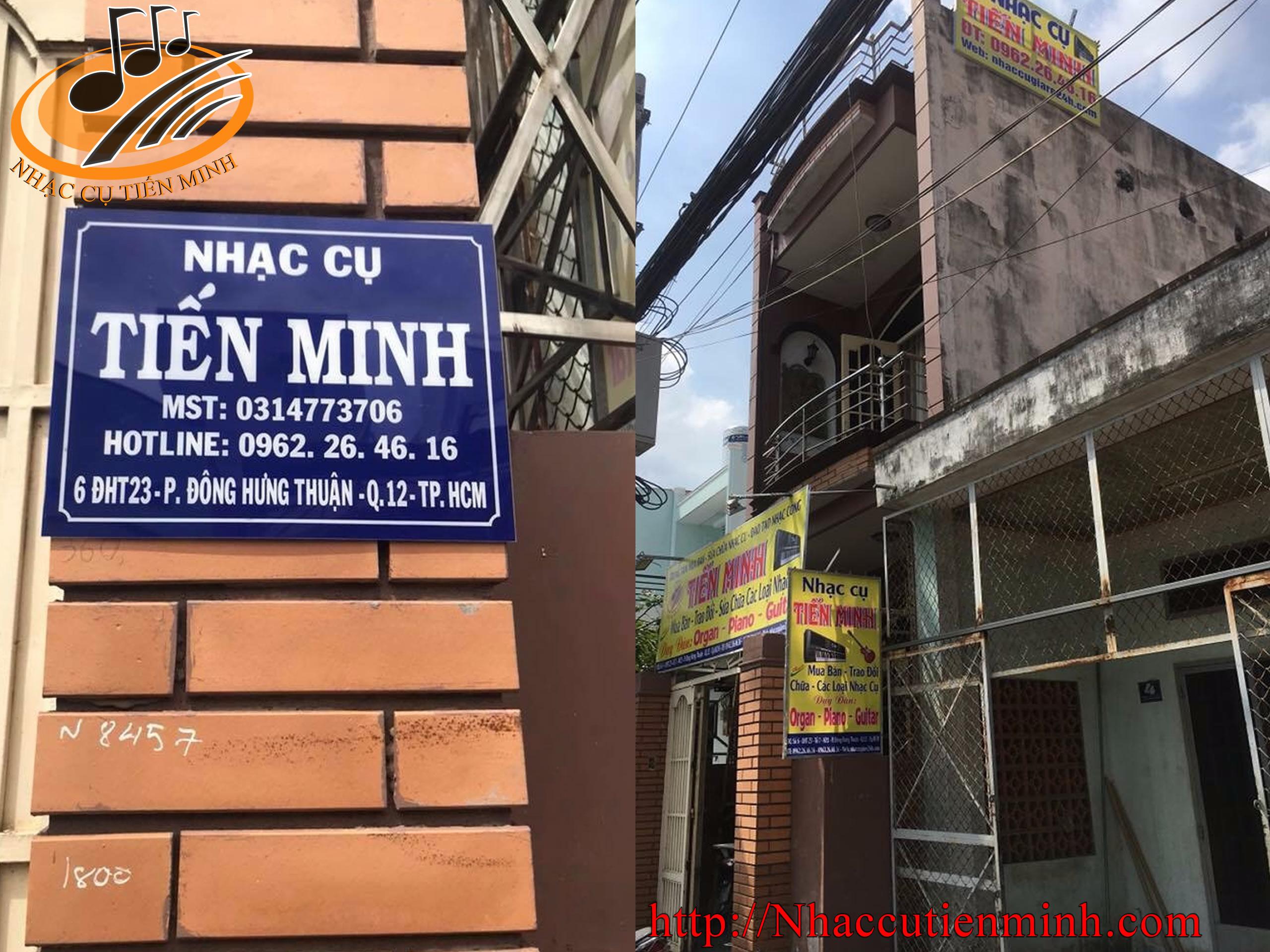 Nhạc cụ Tiến Minh - trung tâm thu mua đàn organ uy tín nhất