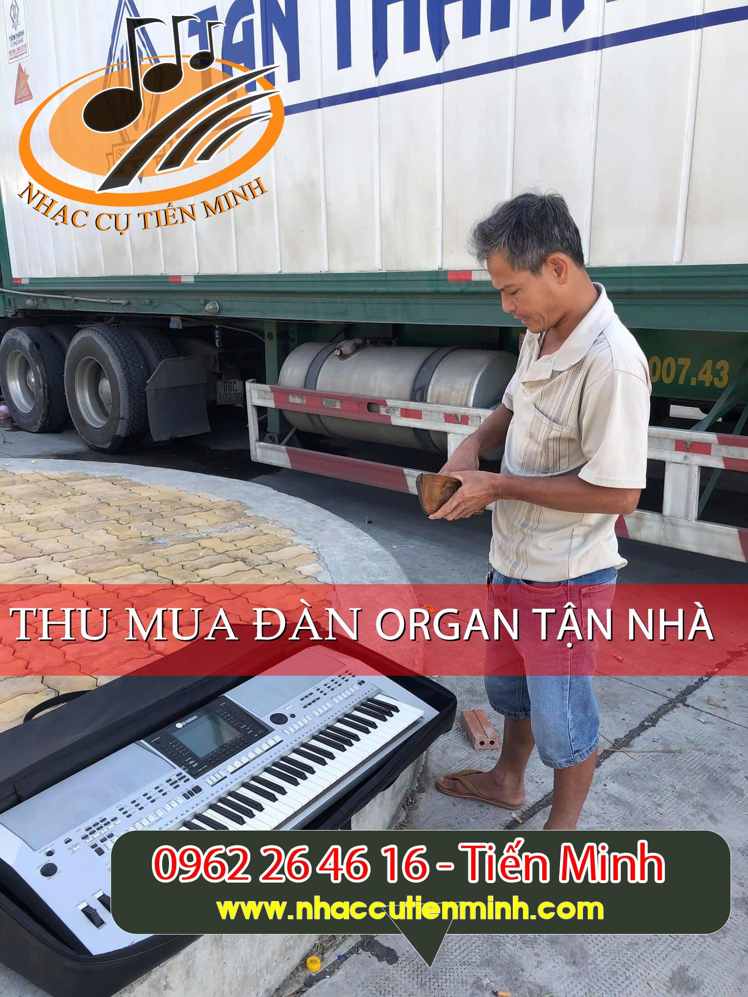Thu mua đàn organ tận nhà