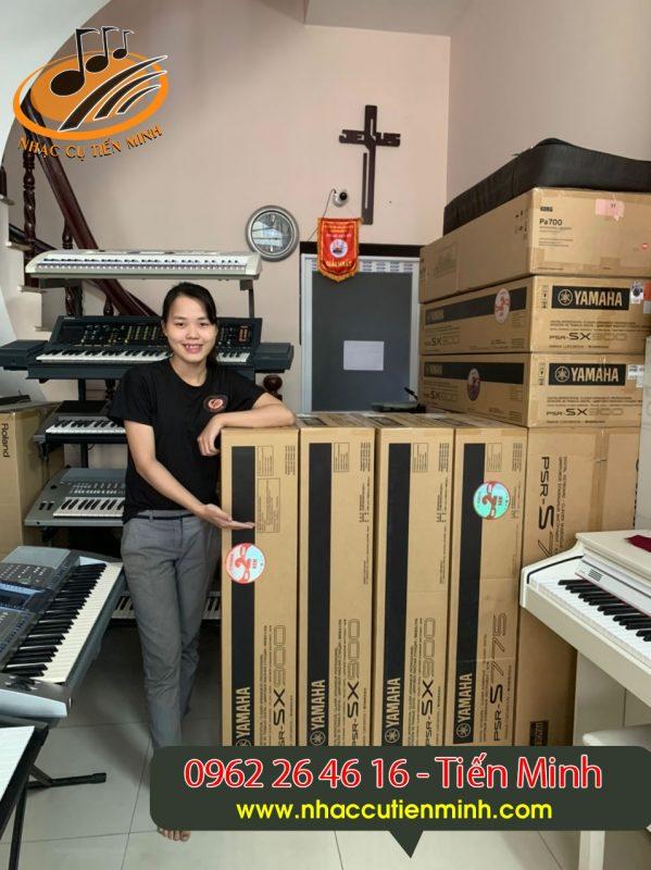 Đàn Organ Yamaha Psr Sx900 Mới chính hãng giá rẻ