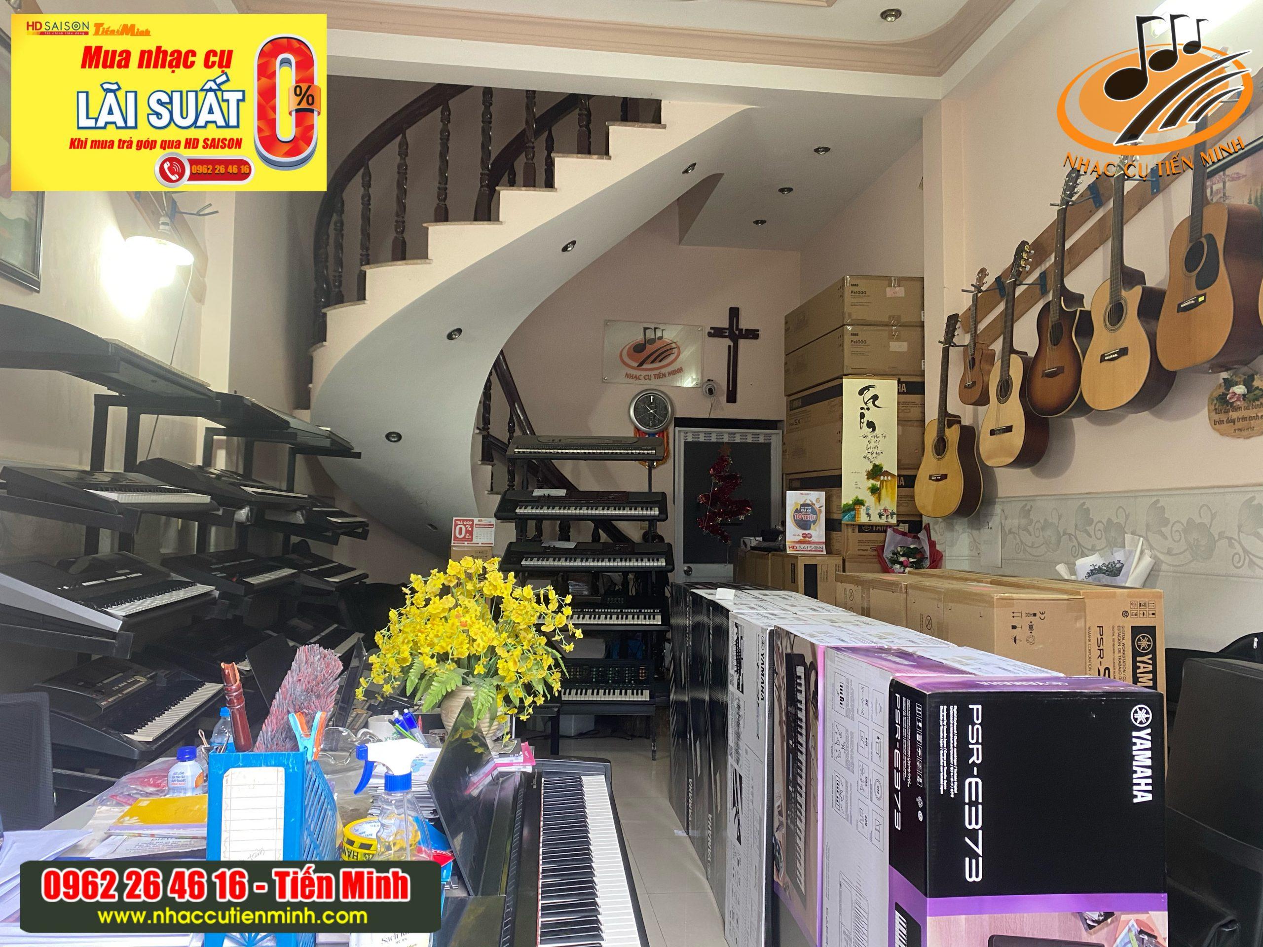 Cửa hàng Nhạc cụ Tiến Minh tại Quận 12 Tphcm